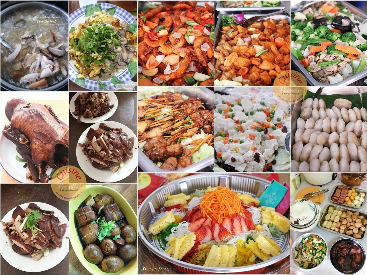 10 Lovely Chinese New Year Food Ideas 2013 chinese new year family gatherings recipe recipes