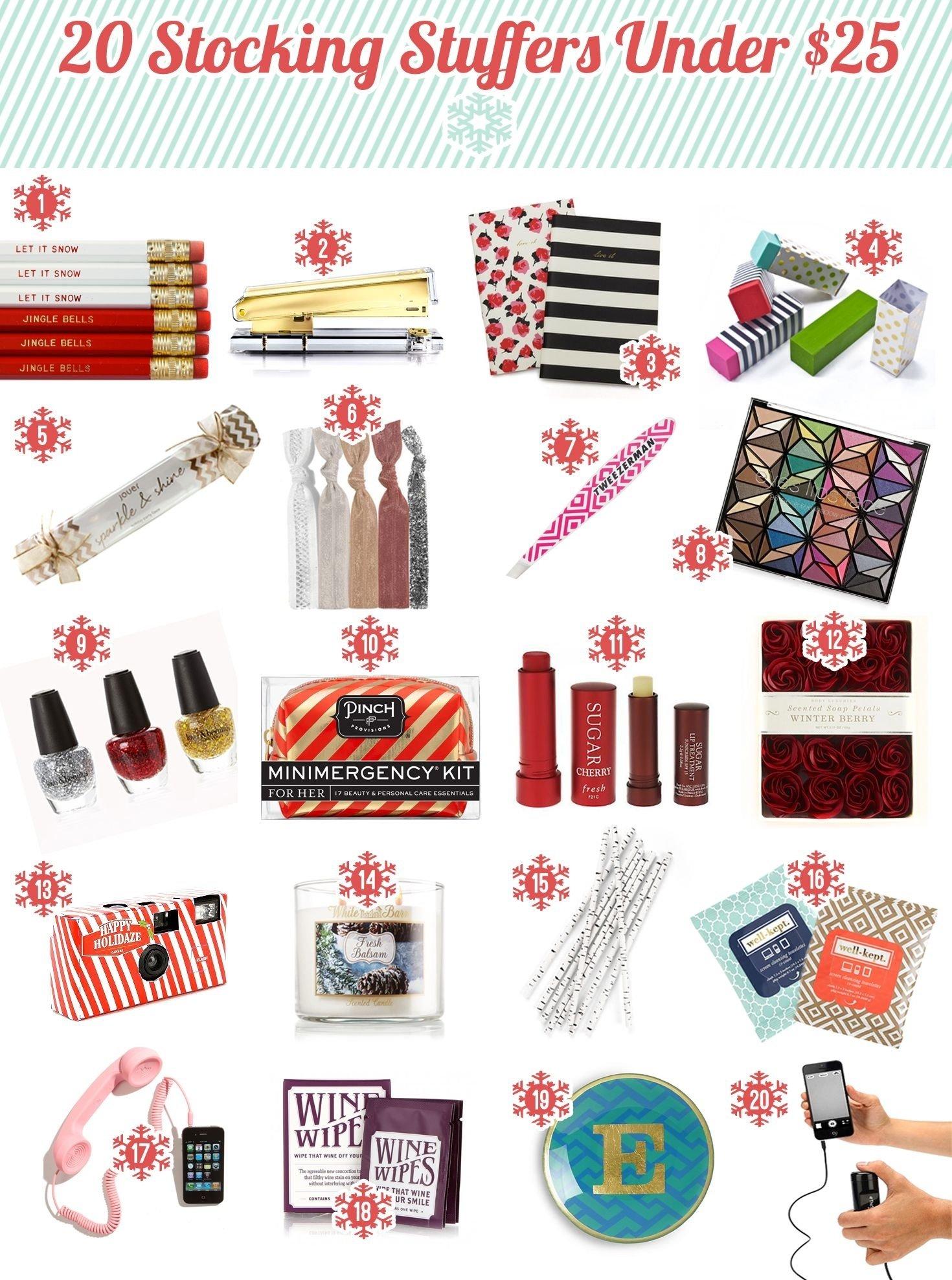 10 Unique Great Secret Santa Gift Ideas 2013 holiday gift guide secret santa gift ideas under 25 most are 5