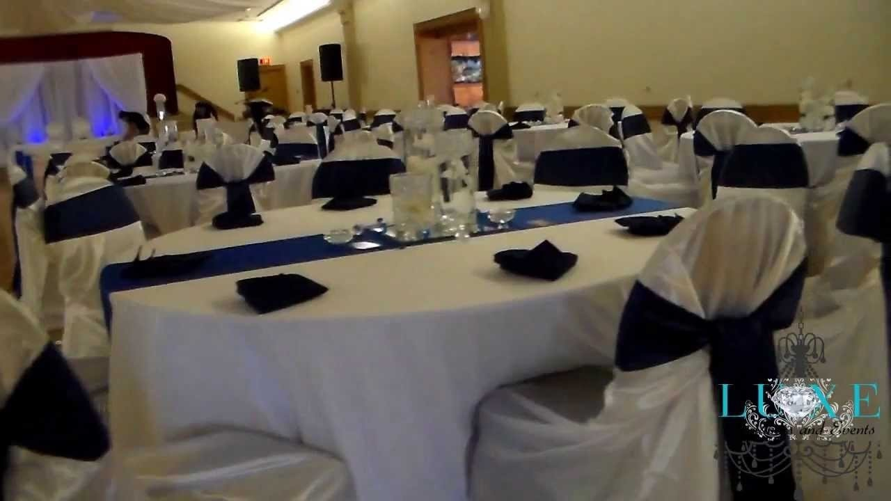 10 Lovable Royal Blue And Silver Wedding Ideas 2013 royal blue wedding decorluxe weddings and events youtube