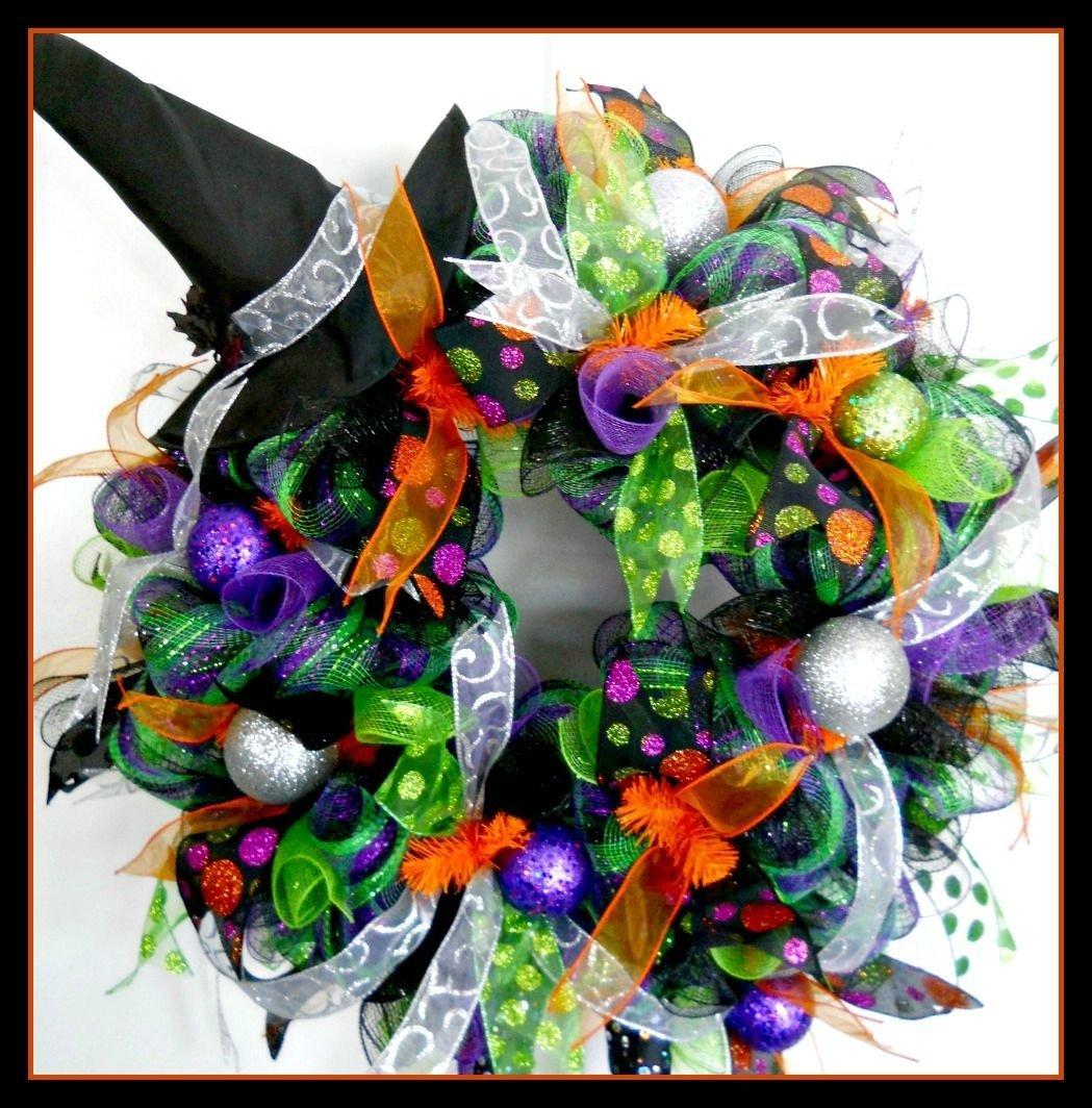 10 Unique Halloween Deco Mesh Wreath Ideas 2016 halloween wreaths artificial wreathsdeco mesh wreathsfront