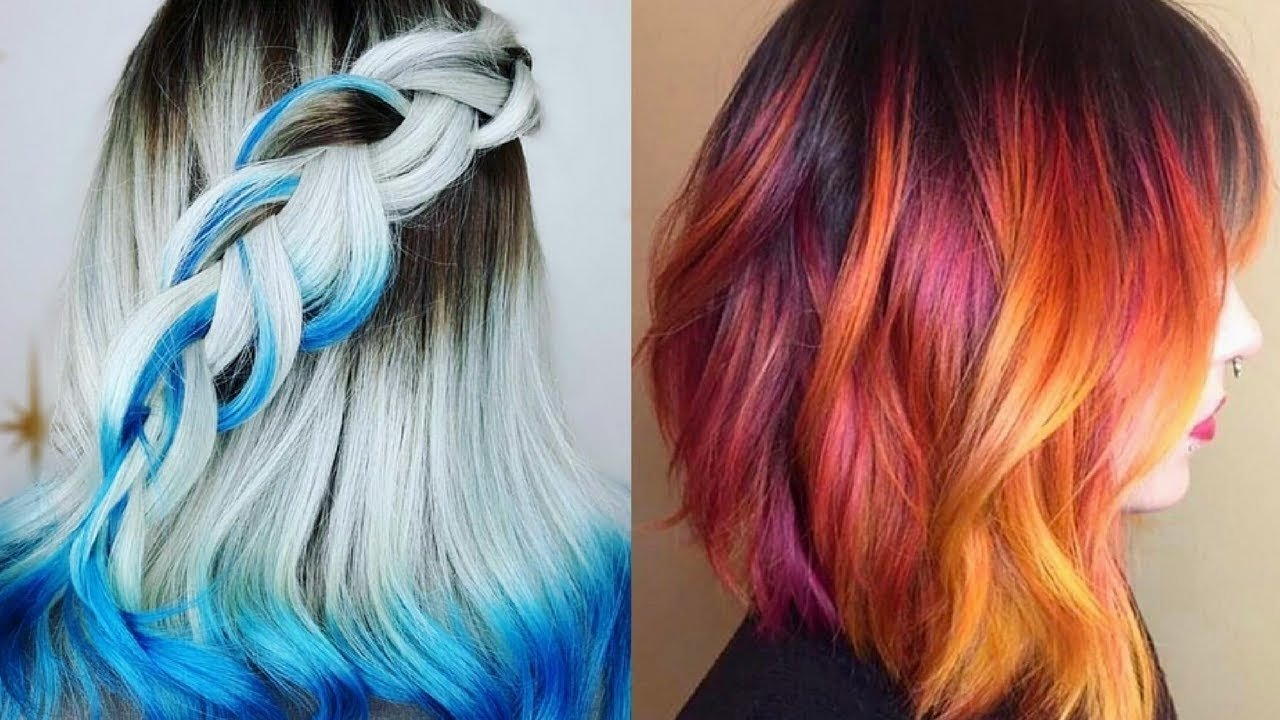 2017 / 2018 hair color ideas for short hair - youtube