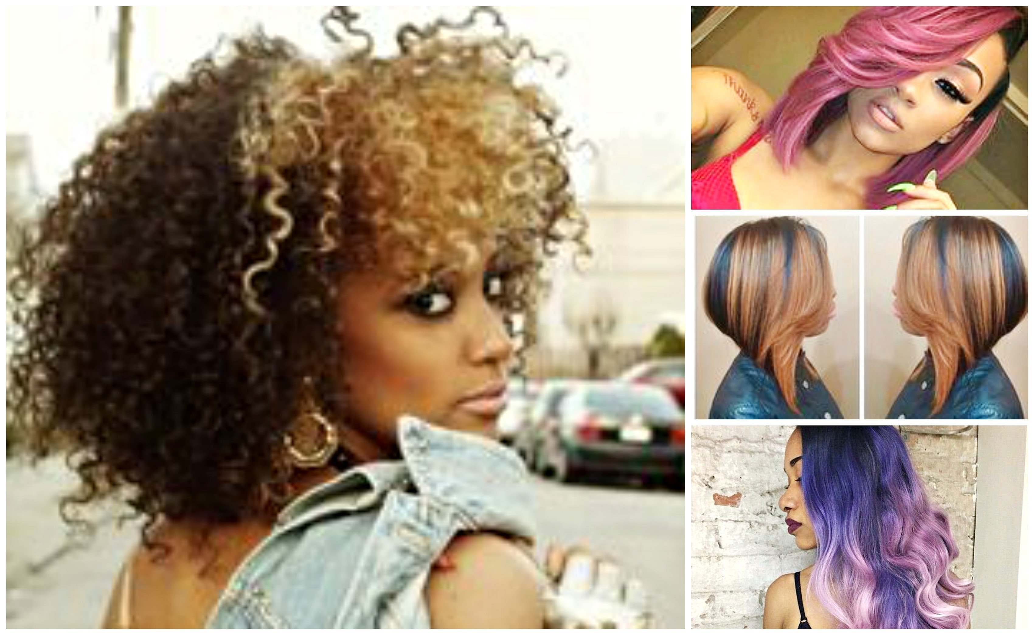 2017 bold hair color ideas for black & african american women - youtube