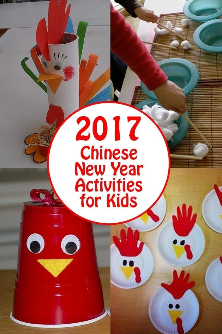2017 chinese new year kids activities and rooster crafts | kid