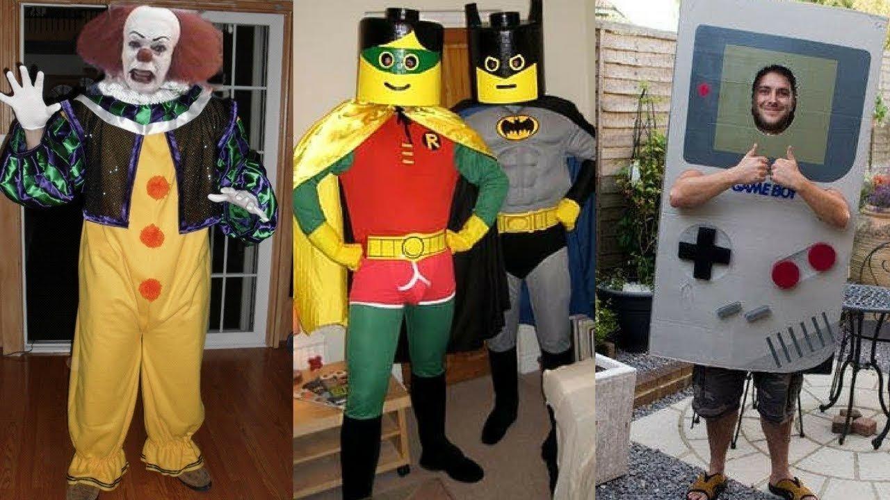 10 Trendy Cool Halloween Costume Ideas For Men 2017 clever halloween costume ideas for men youtube 3 2020