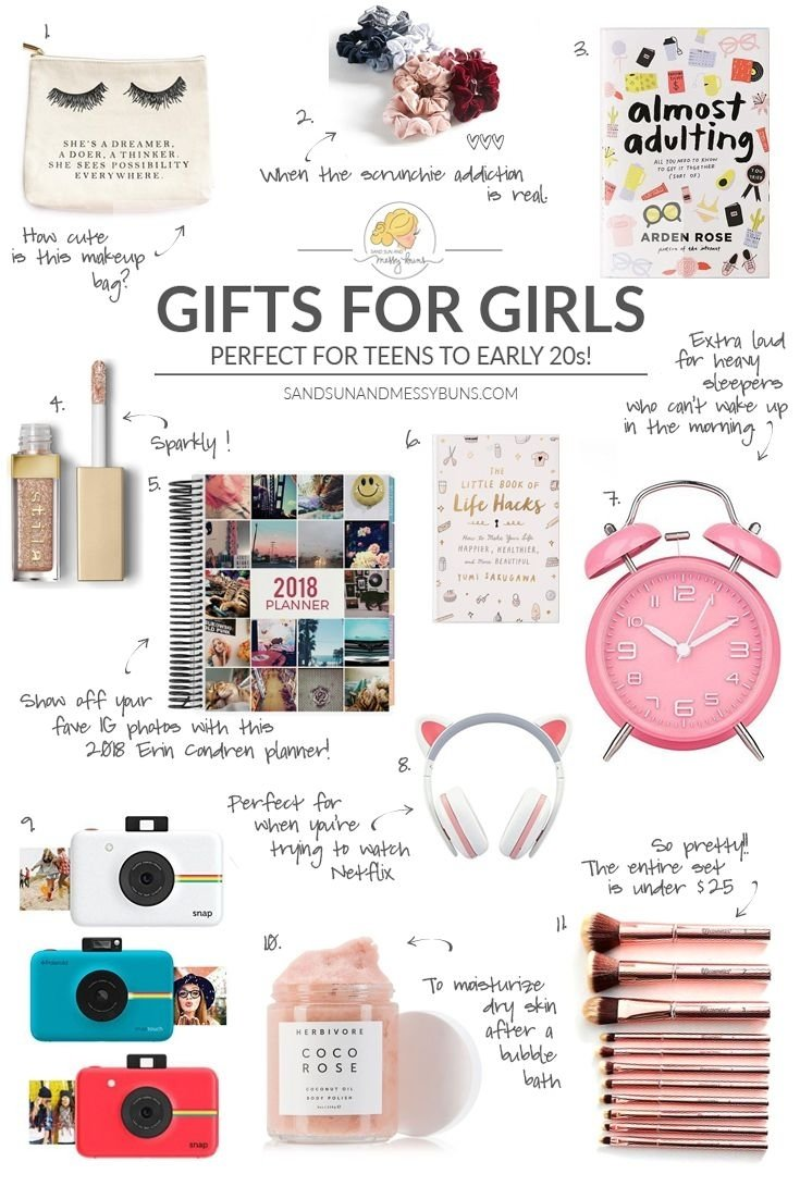 10 Attractive Gift Ideas For College Girls 2017 gift guide the best gifts for teen girls college teen and 50th 2021
