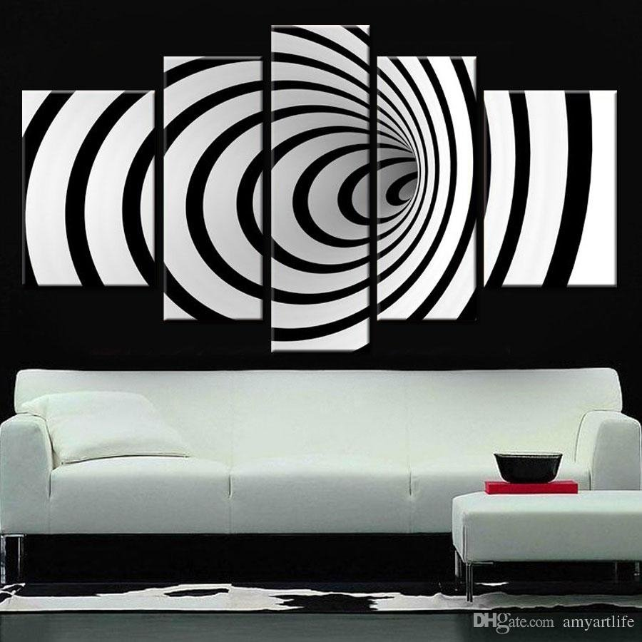 10 Ideal Black And White Painting Ideas 2018 hand painted ideas modern canvas art picture future wall art 3d 2020