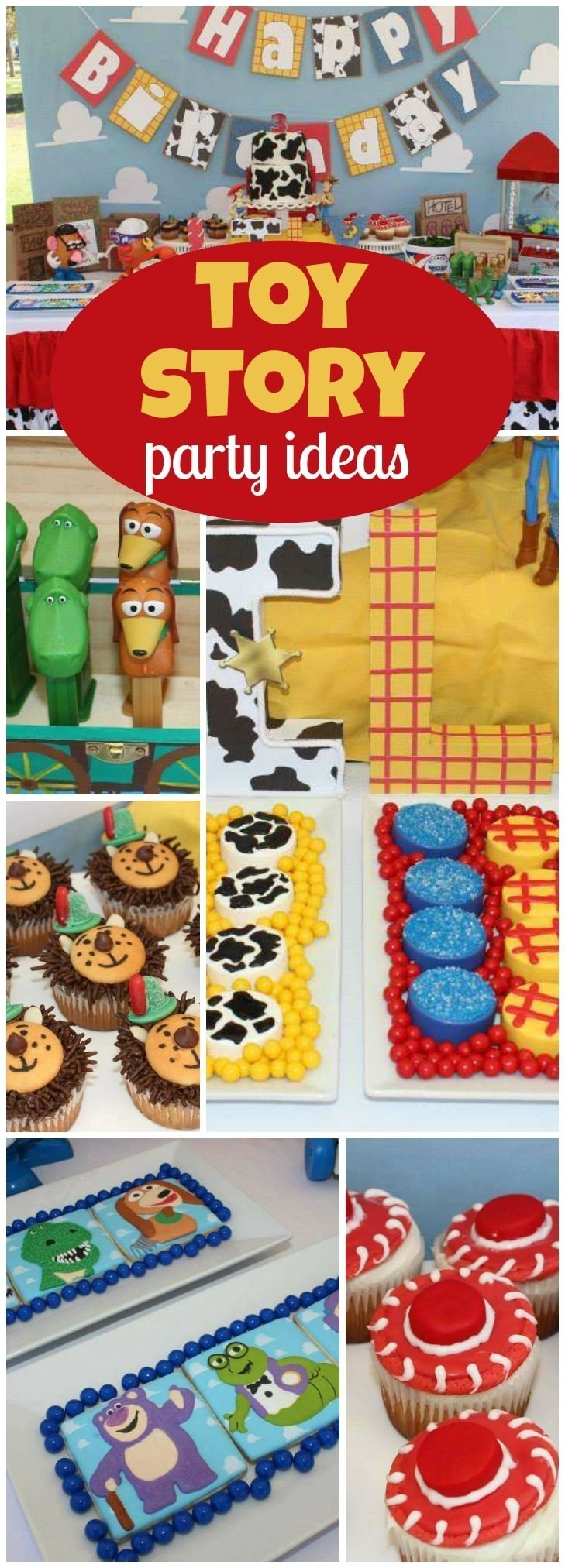 207 best toy story party ideas images on pinterest | toy story party
