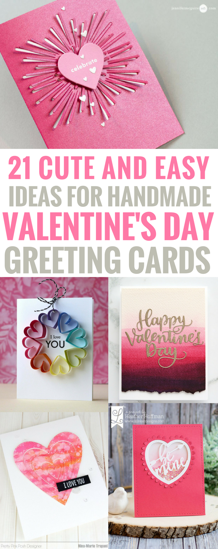 10 Best Valentine Card Ideas For Kids To Make 21 amazingly cute and easy ideas for handmade valentines day cards 2020