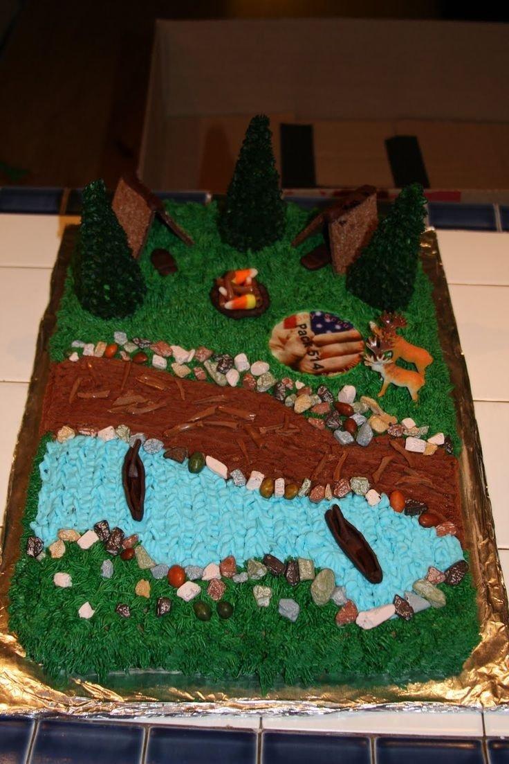 10 Cute Cub Scout Cake Decorating Ideas 21 best boy scout cake ideas images on pinterest boy scouting boy 2020