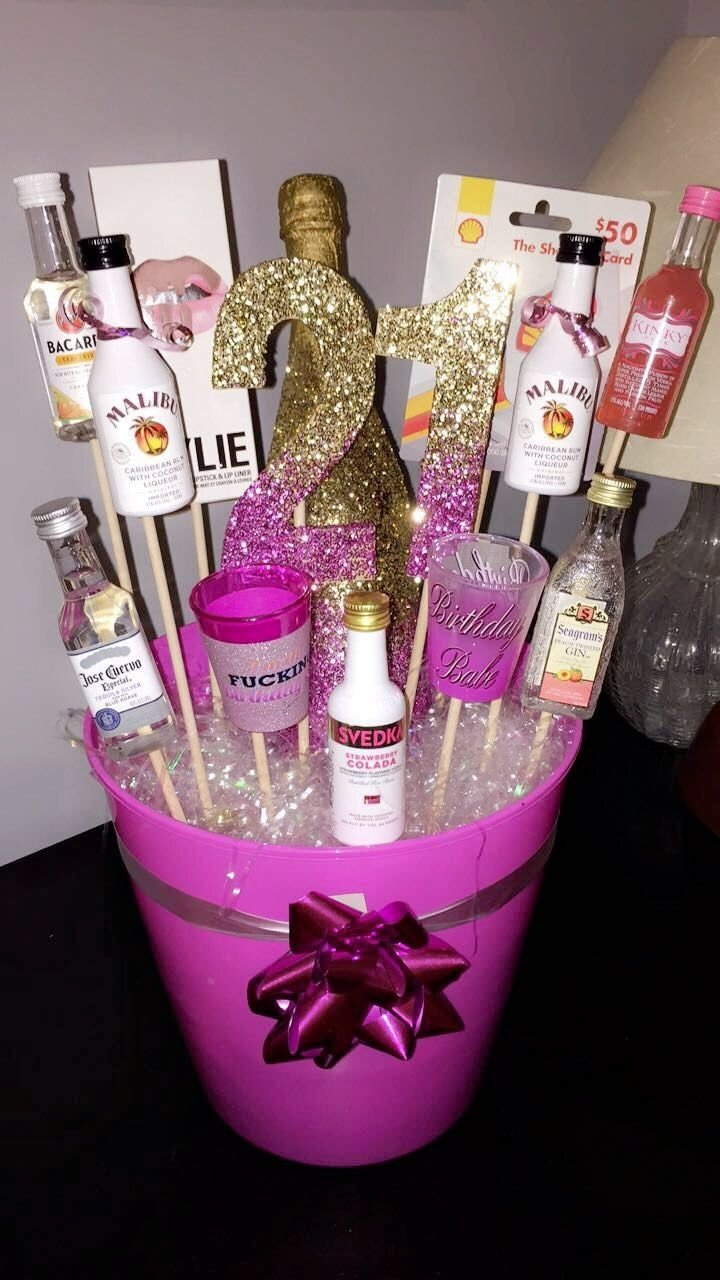 10 Pretty Ideas For 21St Birthday Party 21 birthday alcohol ideas 21st birthday ideas to celebrate the 21st 2 2020