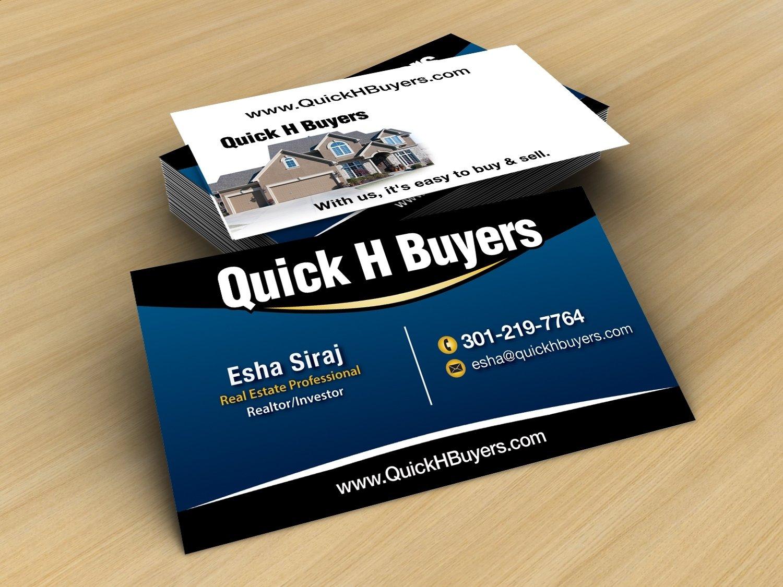 10 Wonderful Real Estate Business Card Ideas