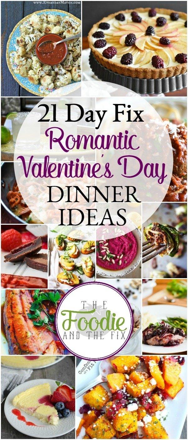 10 Stylish Romantic Valentines Day Dinner Ideas 21 day fix romantic dinner ideas for valentines day the foodie 2021