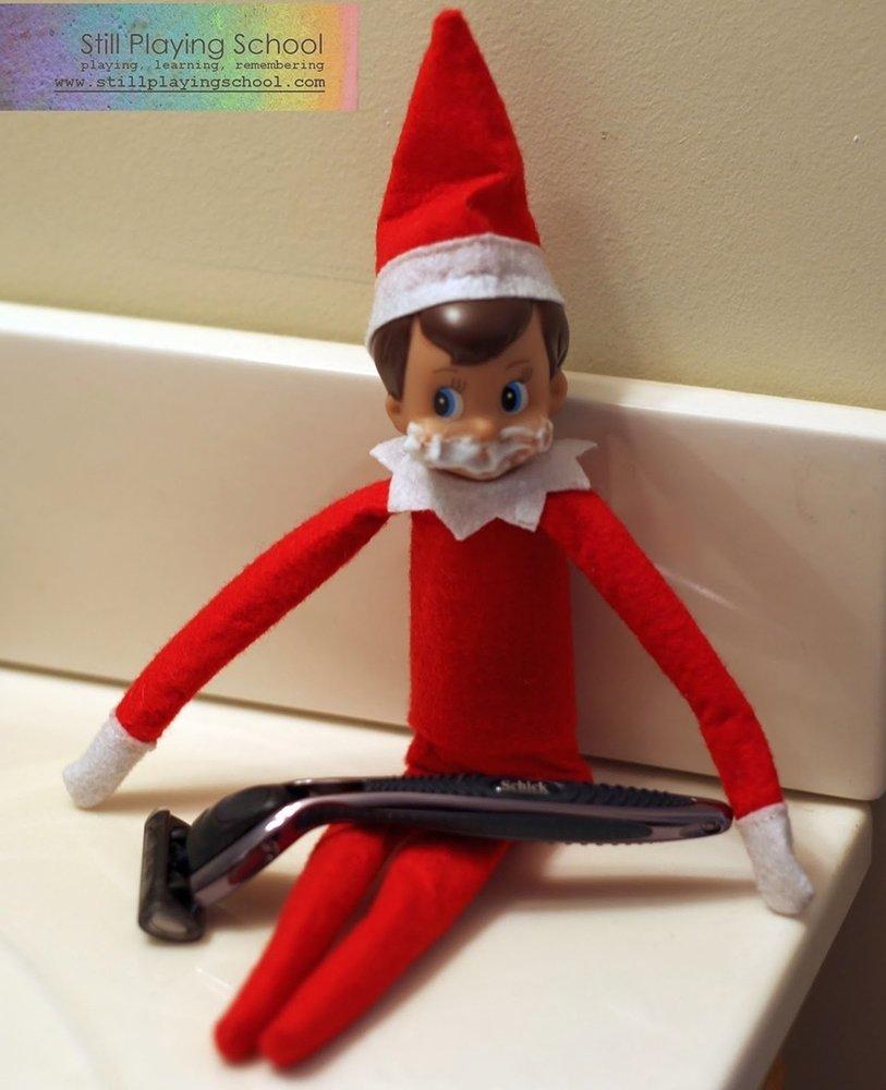 10 Pretty Elf On The Shelf Idea 21 easy elf on the shelf ideas huffpost 2 2020