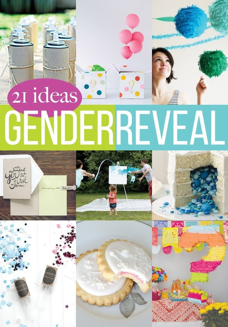 10 Best Ideas To Reveal Baby Gender 21 gender reveal crafts andreas notebook