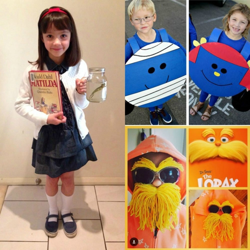 10 Best Dr Seuss Characters Costumes Ideas 21 last minute diy book week dress ups for kids clean eating with kids 3