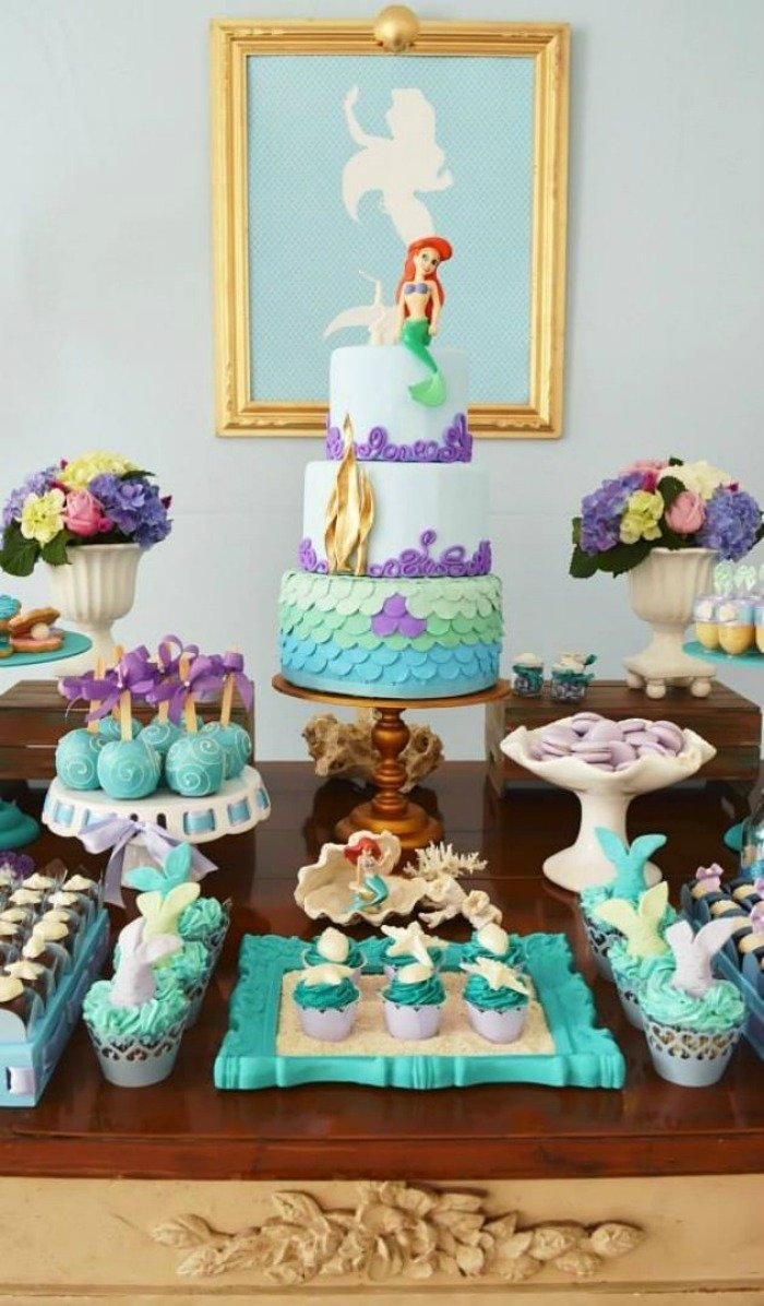 10 Great The Little Mermaid Birthday Party Ideas 21 marvelous mermaid party ideas for kids 2021