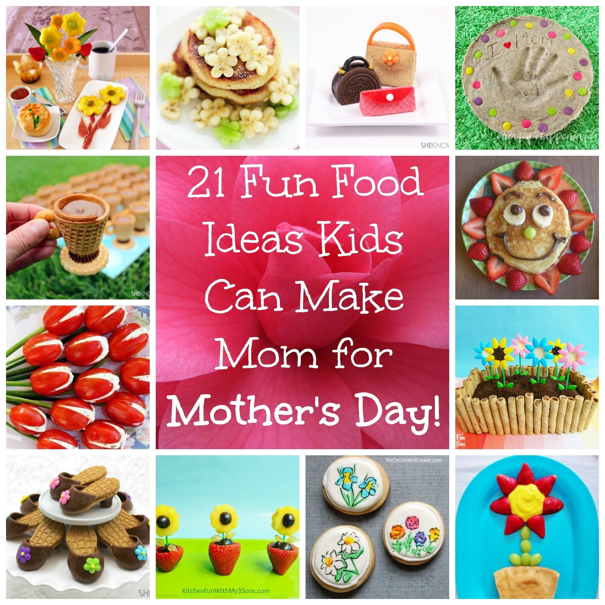 10 Fabulous Fun Baking Ideas For Kids 21 recipes and desserts that kids can make for mothers day 2020