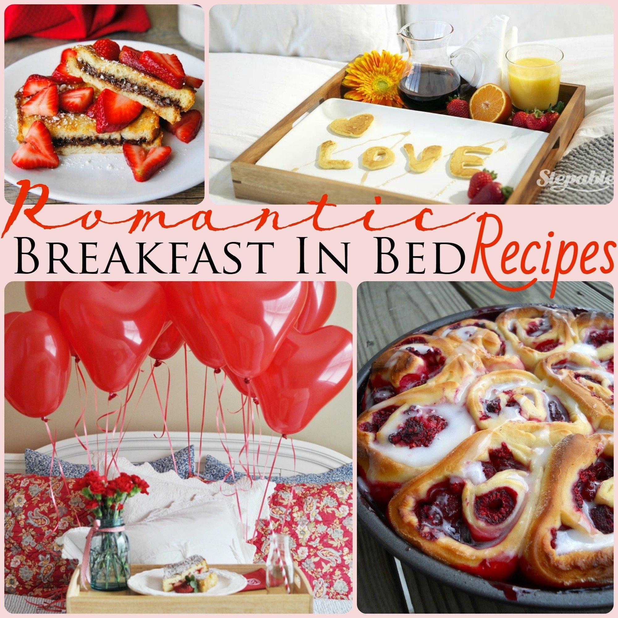 10 Gorgeous Romantic Breakfast In Bed Ideas 21 romantic breakfast in bed recipes piece of home 1