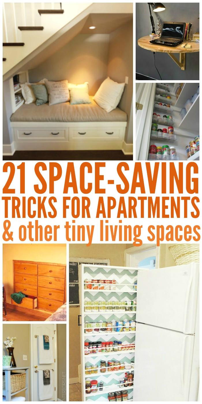 10 Most Popular Space Saving Ideas For Small Apartments 21 space saving tricks small room ideas 1 2020