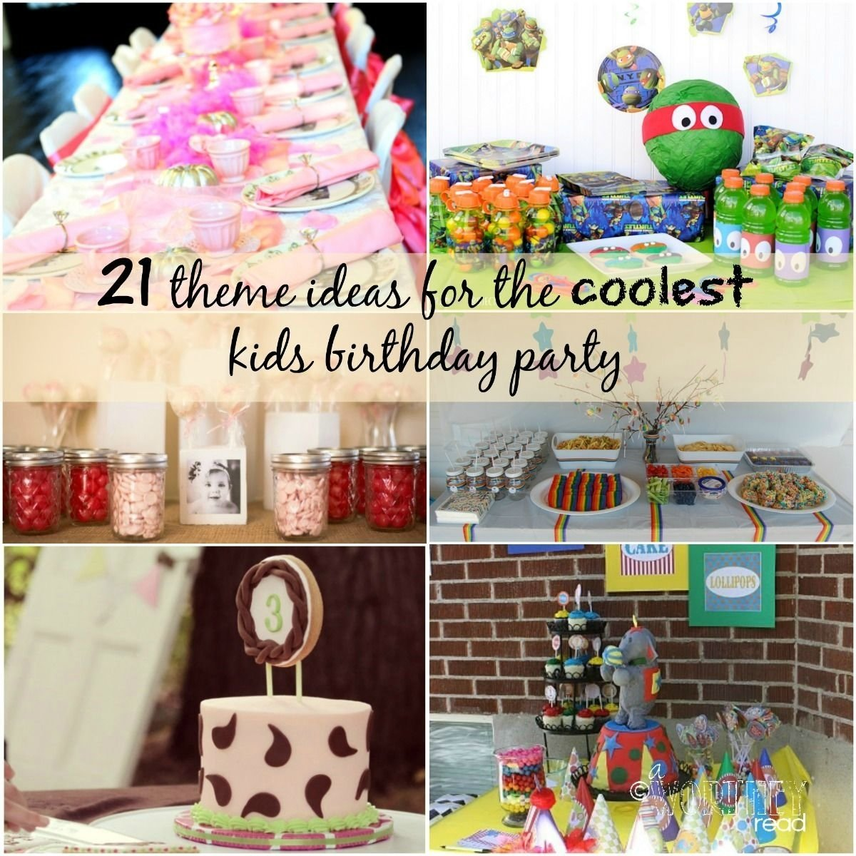 10 Lovable Indoor Birthday Party Ideas For Toddlers 21 theme ideas for the coolest kids birthday party theme ideas and 1 2020