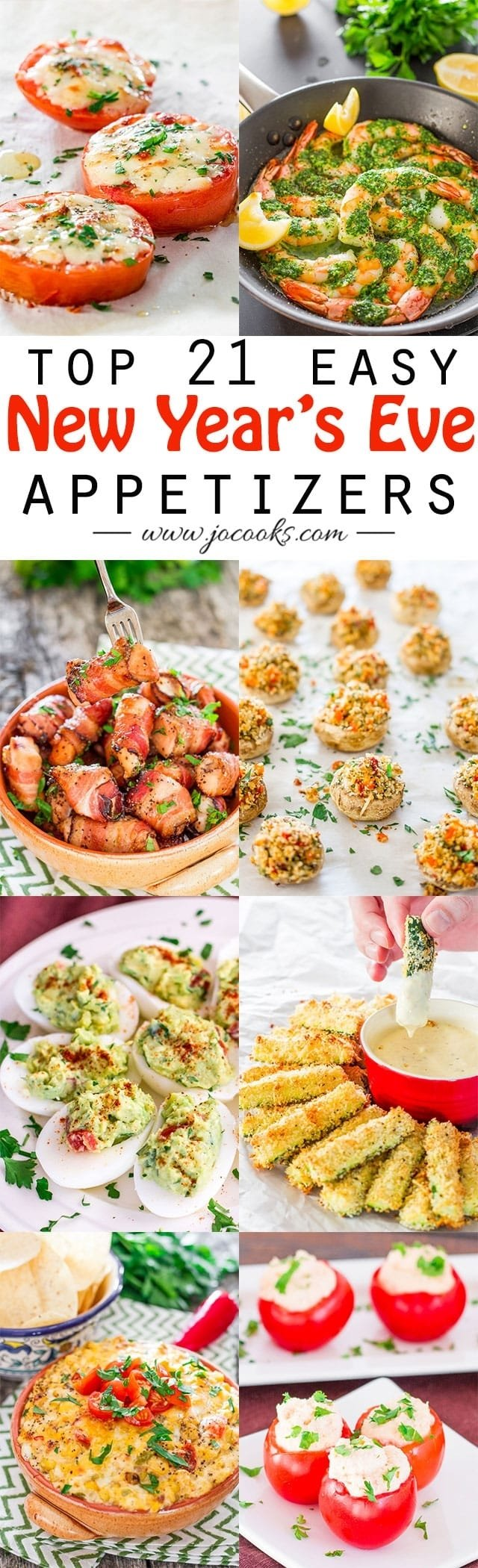 10 Beautiful New Years Eve Menu Ideas 21 top easy new years eve appetizers jo cooks 2020