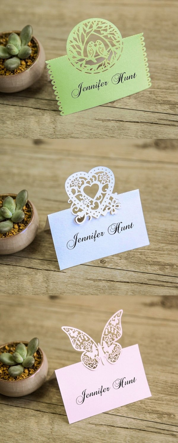 10 Attractive Place Card Ideas For Wedding 21 unique wedding escort cards place cards ideas 1 2021
