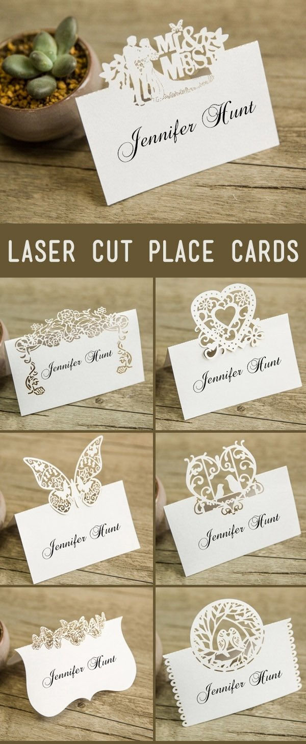10 Attractive Place Card Ideas For Wedding 21 unique wedding escort cards place cards ideas 2020