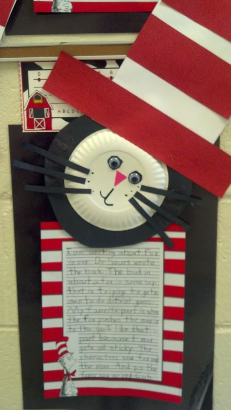 10 Most Popular Cat In The Hat Craft Ideas 211 best seuss images on pinterest dr suess crafts for kids and