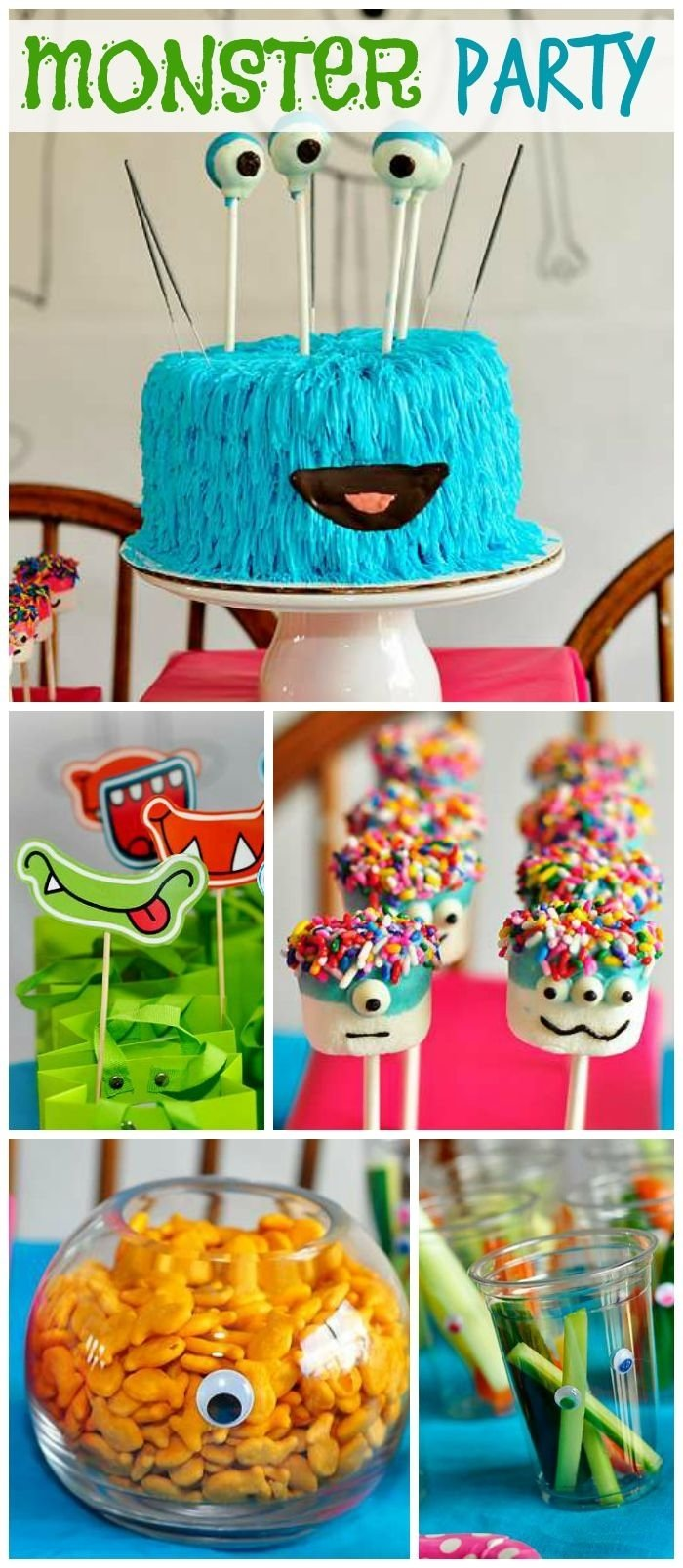 10 Pretty Fun Birthday Ideas For Kids 212 best monster party ideas images on pinterest monster party 2