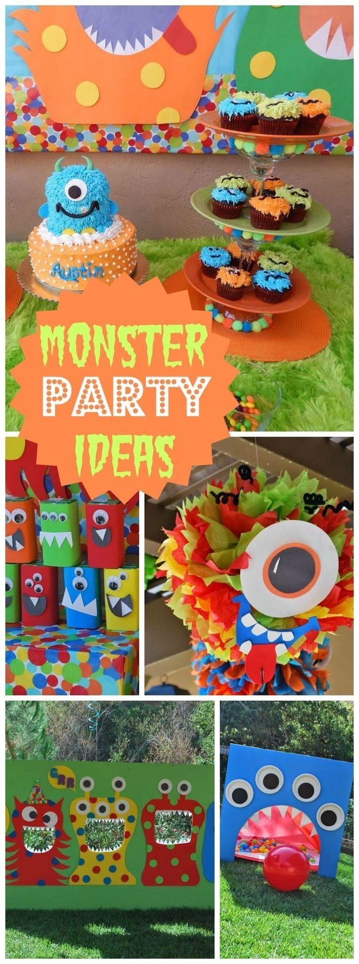 10 Fashionable First Birthday Party Ideas Pinterest 212 best monster party ideas images on pinterest monster party 3 2020