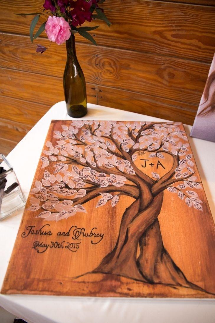 10 Cute Rustic Wedding Guest Book Ideas 215 best creative wedding guest books images on pinterest wedding 2020
