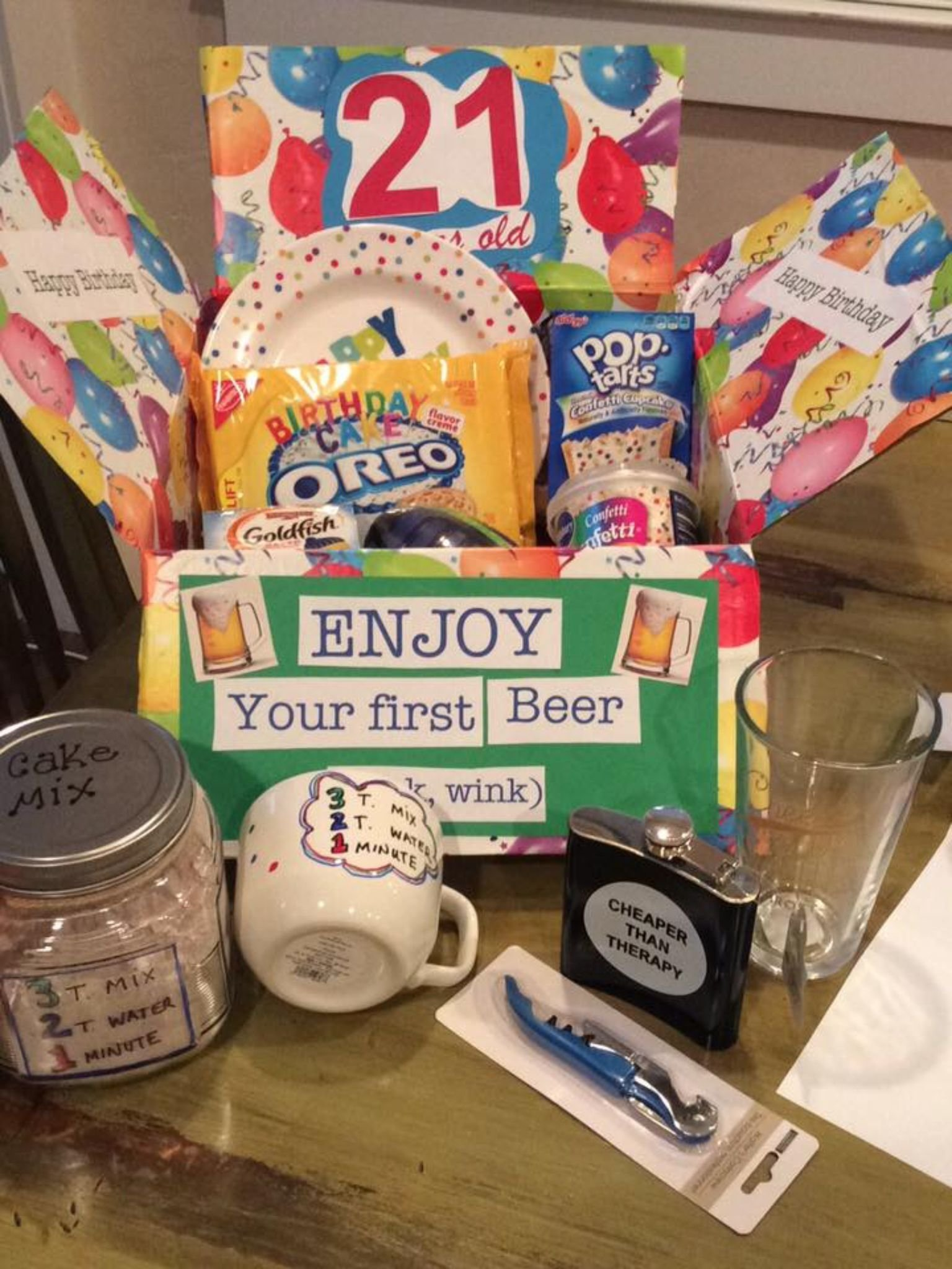 10 Awesome College Care Package Ideas For Girls 21st birthday care package for college student deployment military 2