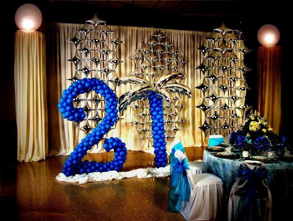 10 Fabulous 21St Birthday Party Ideas For Him 21st birthday decoration ideas diy youtube 3 2021