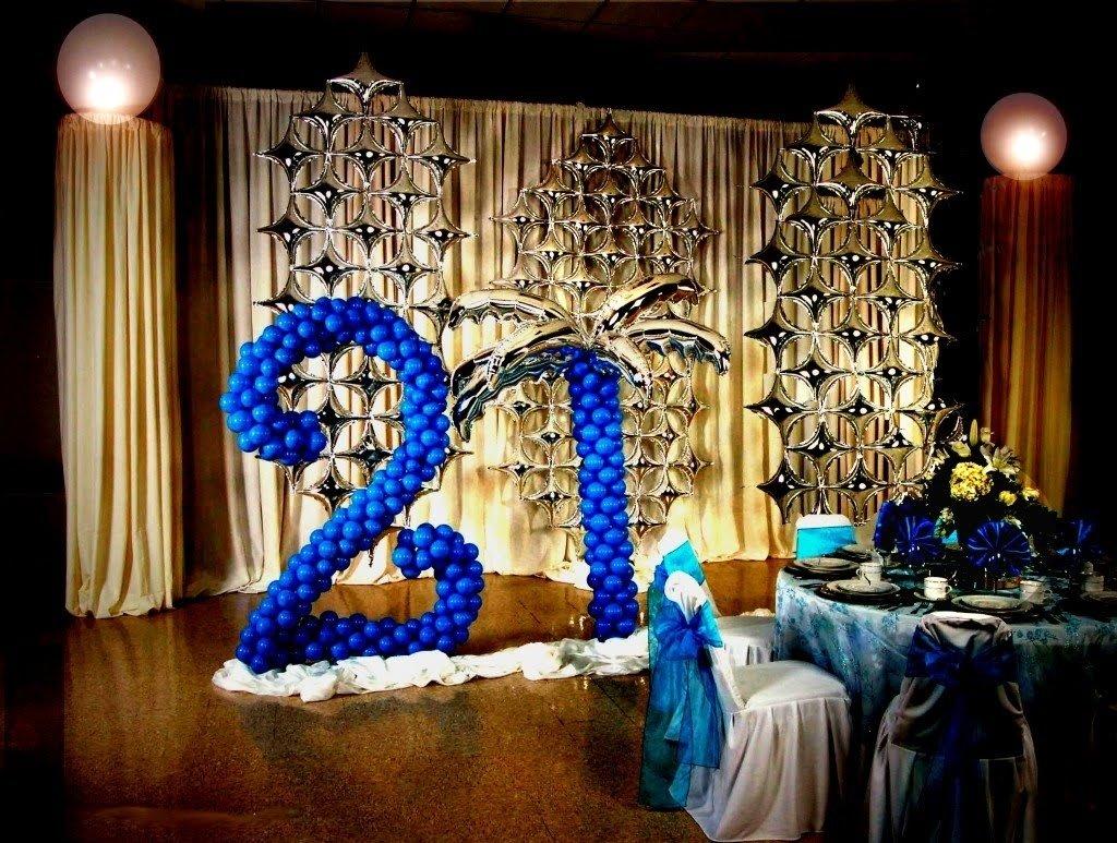 10 Pretty Ideas For 21St Birthday Party 21st birthday decoration ideas diy youtube 4