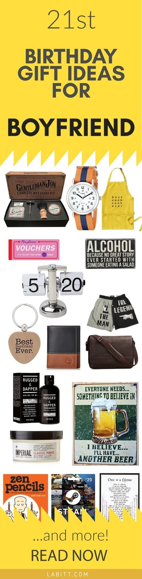 10 Fabulous 21St Birthday Gift Ideas For Him