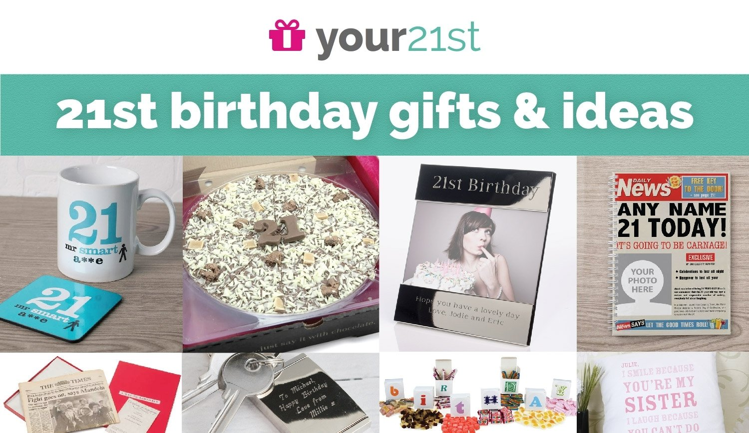 10 Most Recommended 21St Birthday Gift Ideas For Him 21st Gifts Presents