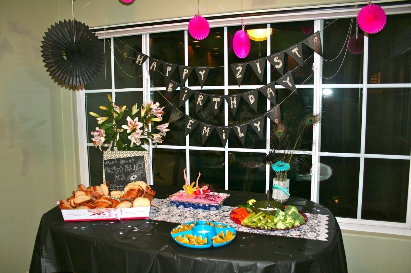 10 Amazing Party Ideas For 21St Birthday 21st birthday party table decorations christianlouboutinpascheret 1 2021