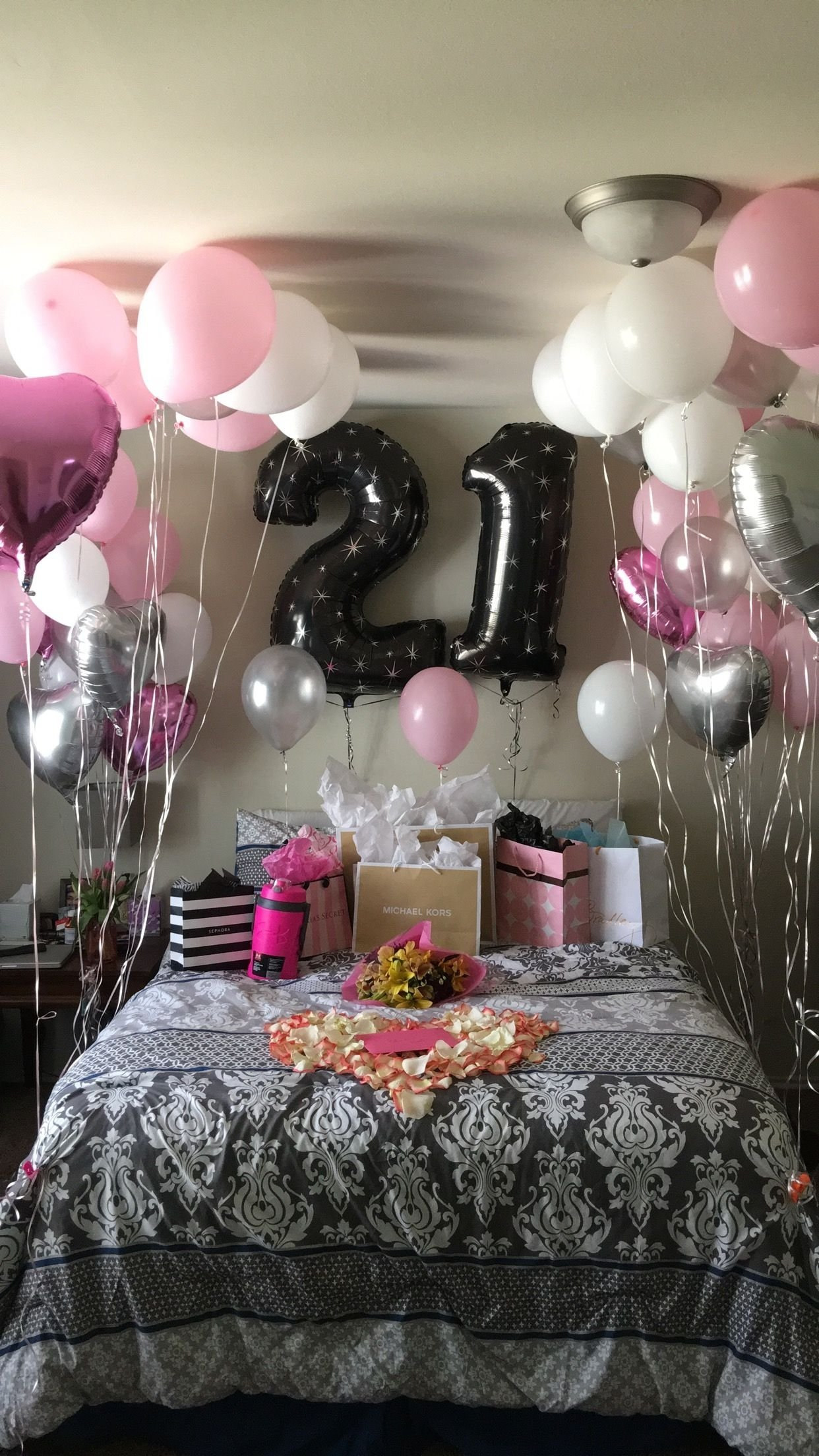 21st birthday surprise! | girlfriends birthday | pinterest | 21st