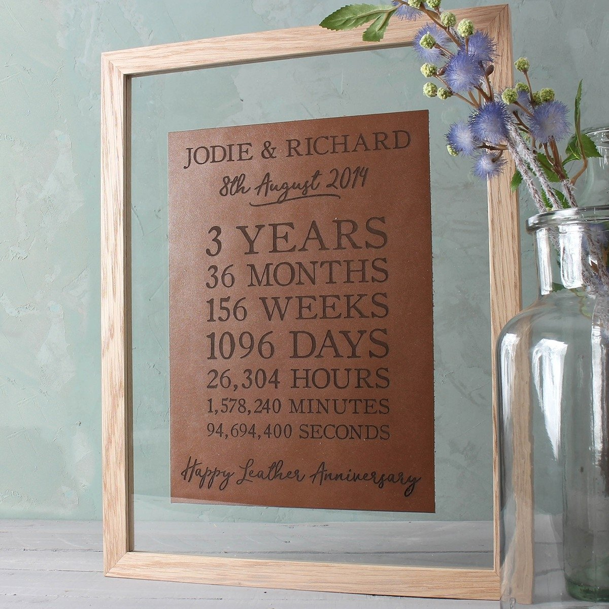 21st wedding anniversary gift ideas beautiful leather 3rd wedding