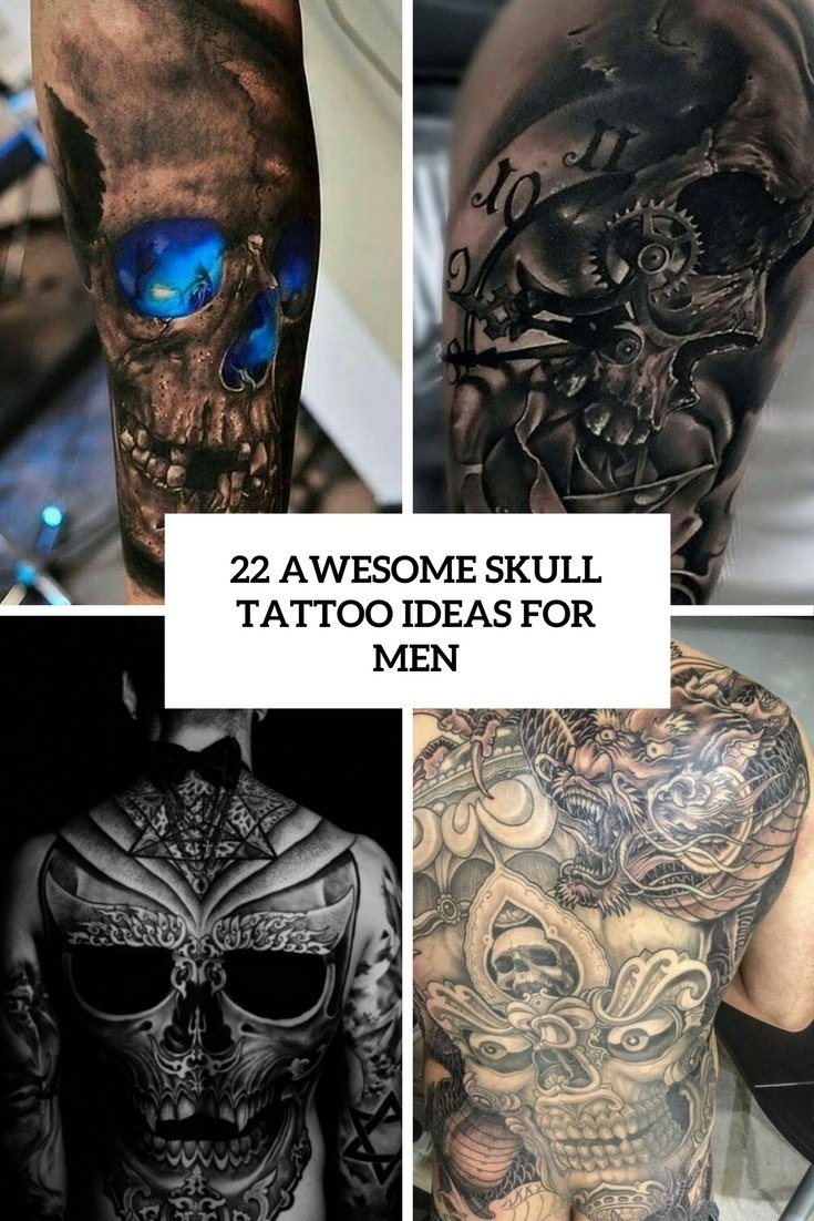 10 Spectacular Skull Tattoo Ideas For Men 22 awesome skull tattoo ideas for men bidernet 2021