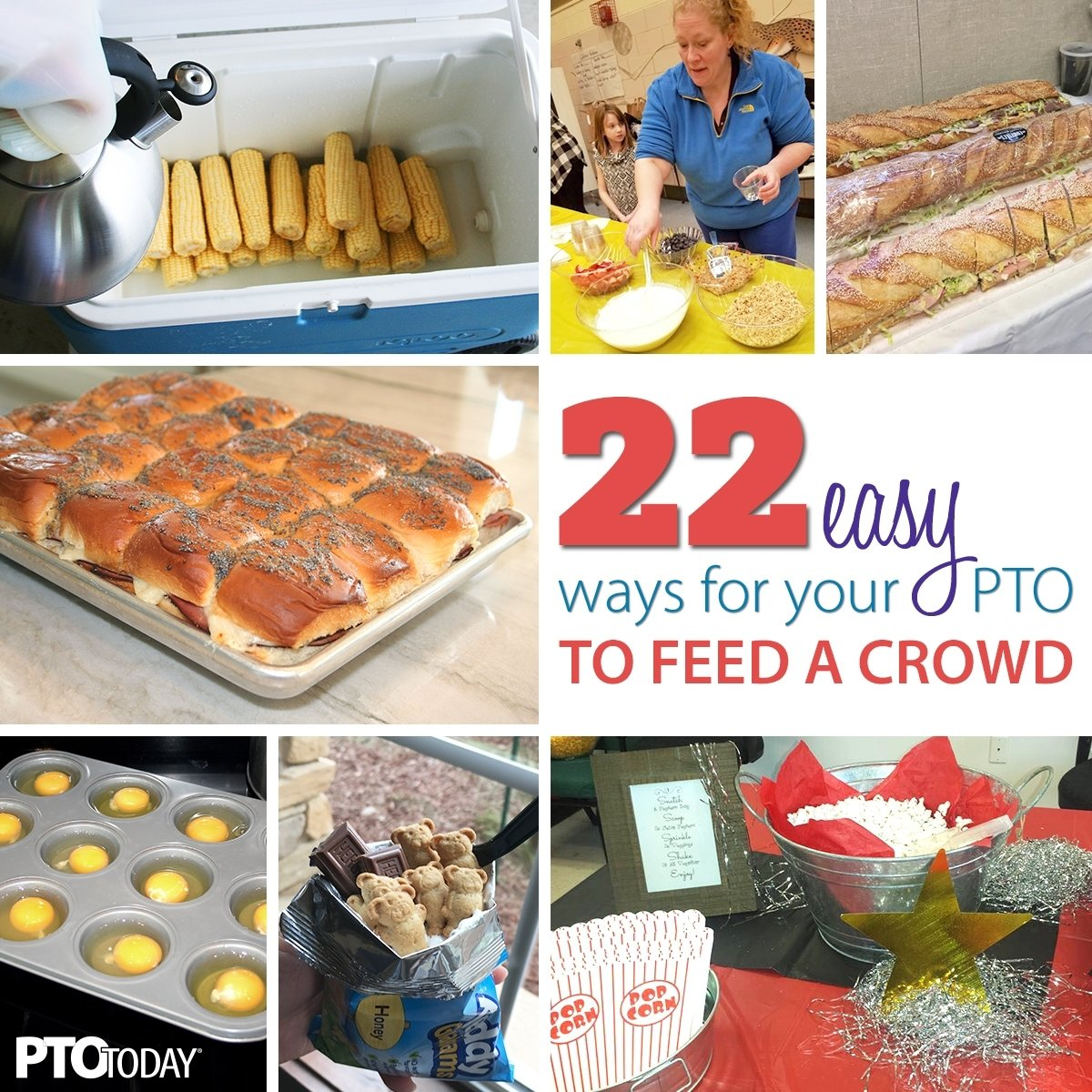10 Trendy Lunch Ideas For A Crowd 22 easy meal ideas for large groups pto today 10 2020