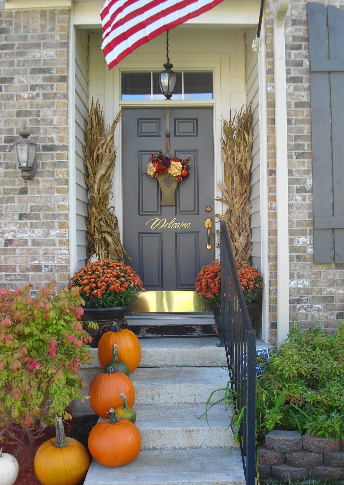 10 Lovely Front Porch Decorating Ideas For Fall 22 fall front porch ideas veranda home stories a to z fall front 2 2020