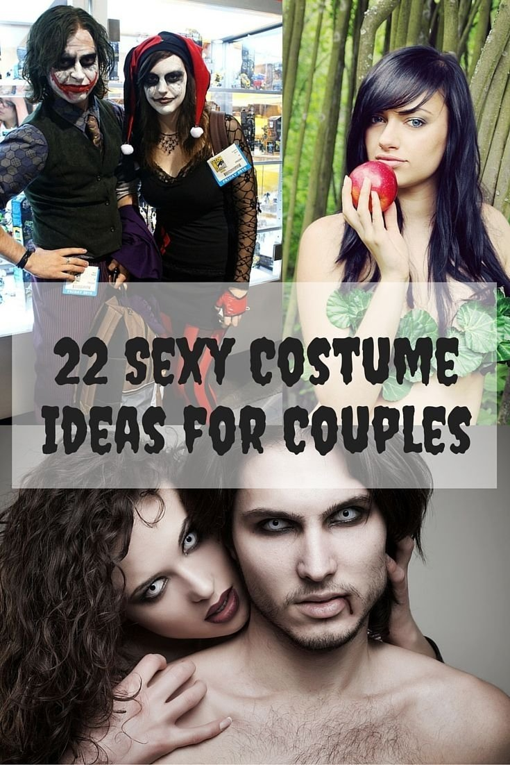 10 Great Sexy Couples Halloween Costume Ideas 22 sexy costume ideas for couples totally unique ideas for couples 2020