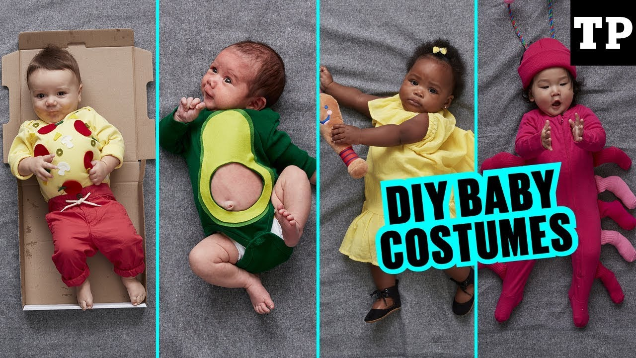 10 Wonderful Baby Costume Ideas For Girls 22 super cute halloween costume ideas for baby youtube 2020