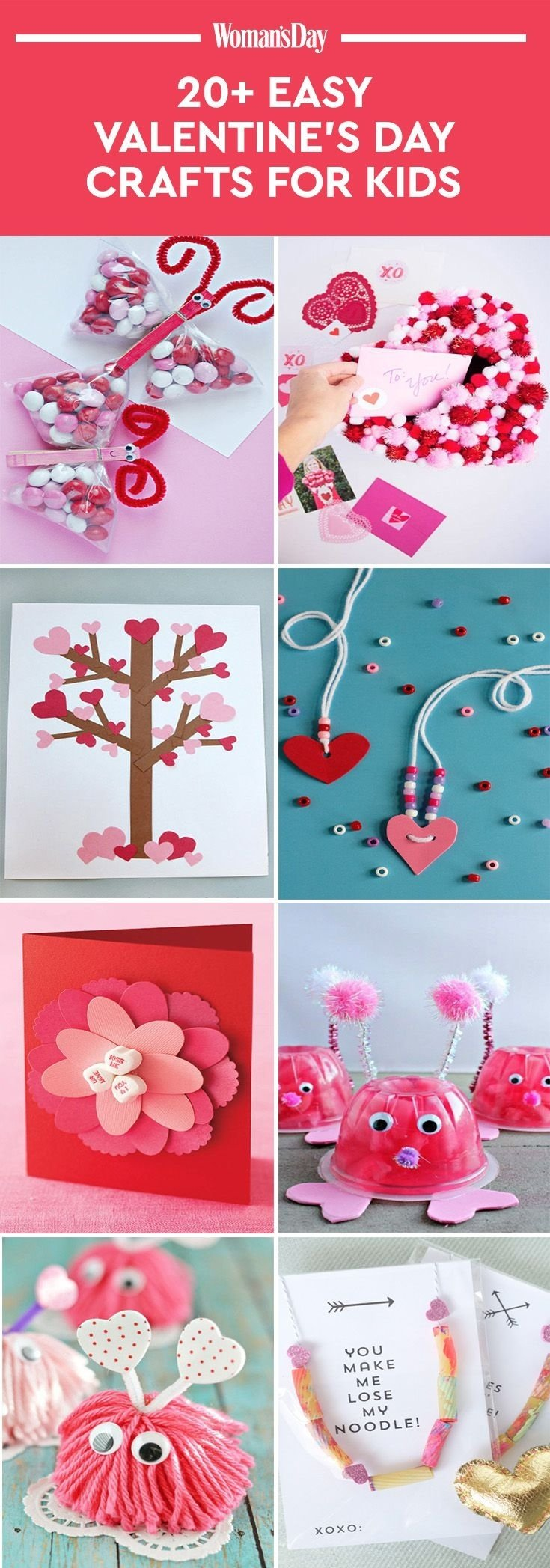 10 Trendy Valentine Day Ideas For Kids 22 valentines day crafts for kids fun heart arts and crafts 2020
