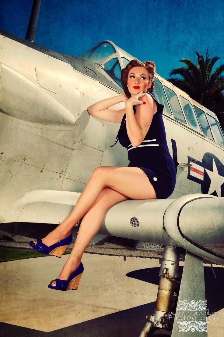 10 Beautiful Pin Up Girl Photoshoot Ideas 225 best airplane photoshoot ideas images on pinterest photography 2020