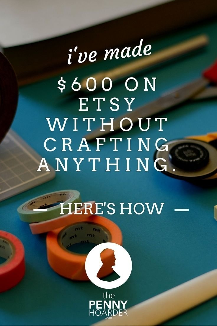 10 Perfect Ideas To Sell On Etsy 2267 best saving and making images on pinterest earn money 2020