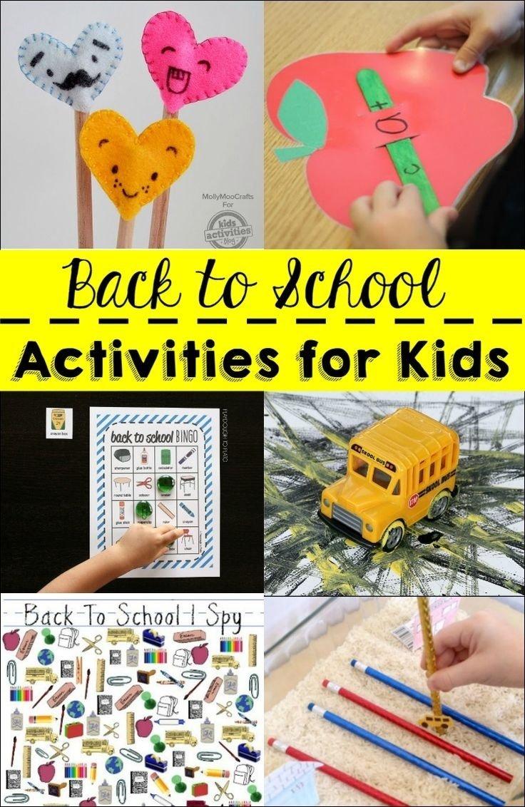 10 Trendy Back To School Ideas For Preschool 229 best kids back to school ideas images on pinterest back to 1 2021