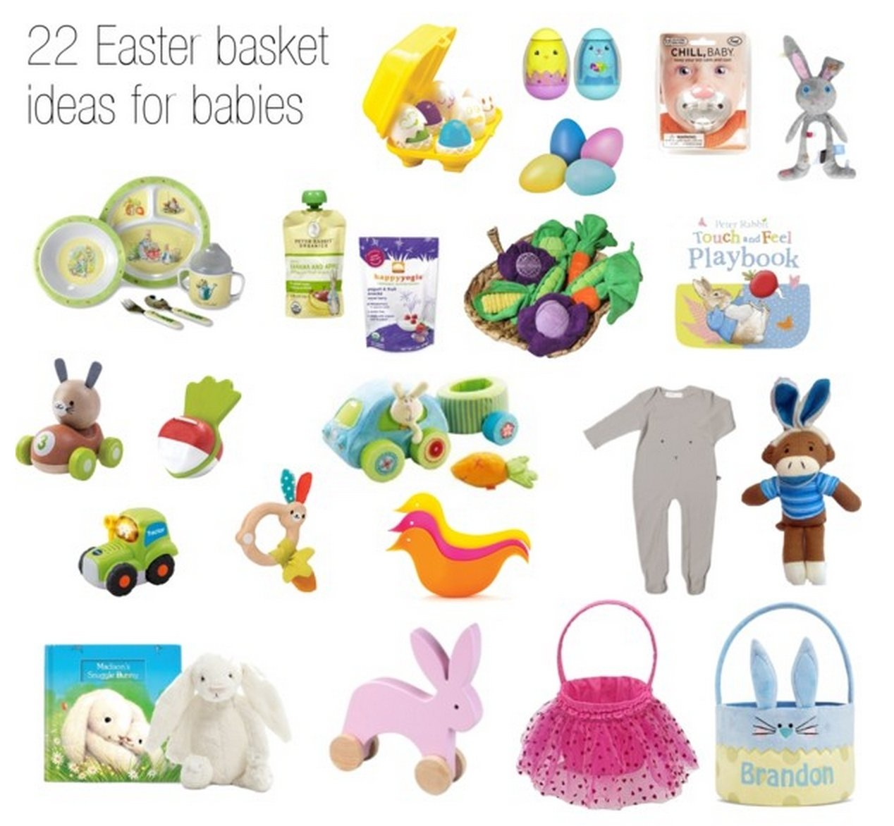 10 Great Easter Basket Ideas For Babies 22 adorable easter basket ideas for babies 2021