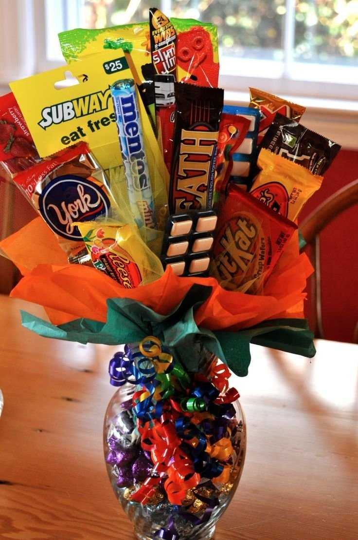 23 best crafts for kids images on pinterest | candy arrangements